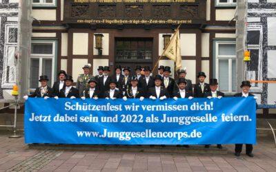 Junggesellen erobern auch 2021 das Rathaus